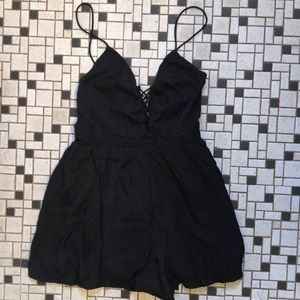 Urban Outfitters Low Back Romper